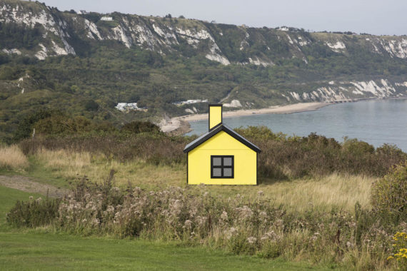 Richard Woods, Holiday Home. Commissioned by the Creative Foundation for Folkestone Triennial 2017. Photo: Thierry Bal