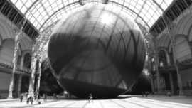 Leviathan by Anish Kapoor at the Grand Palais, Paris 2011