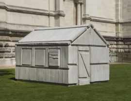Rachel Whiteread Chicken Shed 2017. Courtesy the artist © Rachel Whiteread. Photo: Courtesy Tate photography