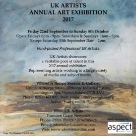 UK Artists Annual Exhibition 2017
