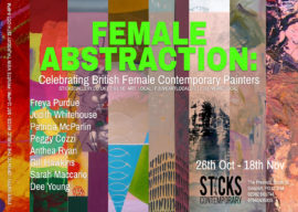 Female Abstraction postcards