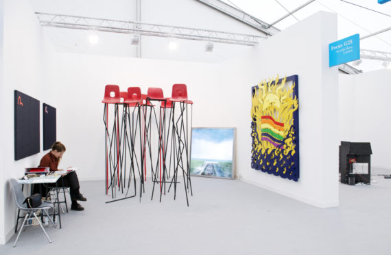 Arcadia Missa, Focus section, Frieze London 2016. Photo: Linda Nylind; Courtesy: Linda Nylind/Frieze