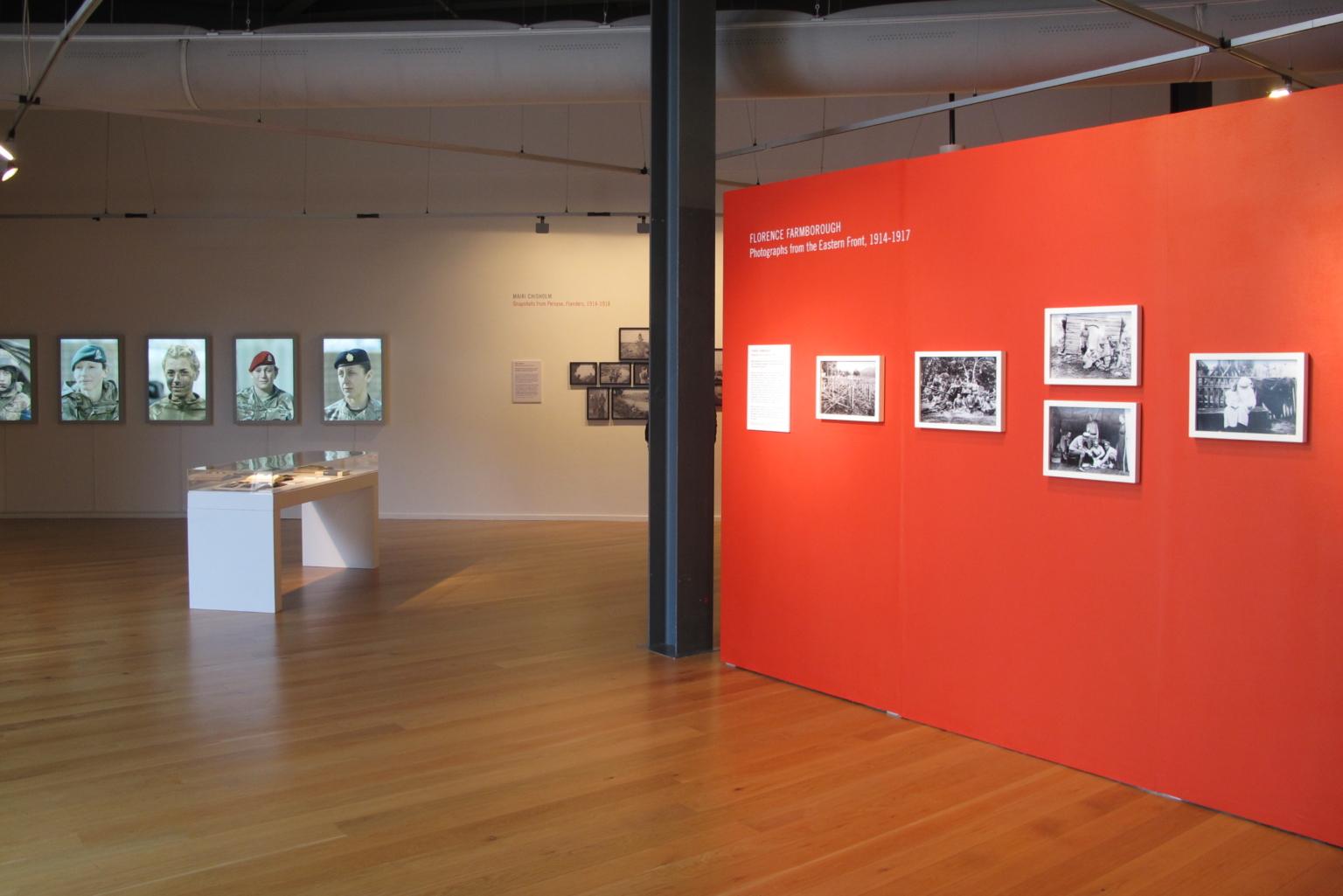 'No Man's Land', exhibition view. Courtesy: Impressions Gallery, Bradford