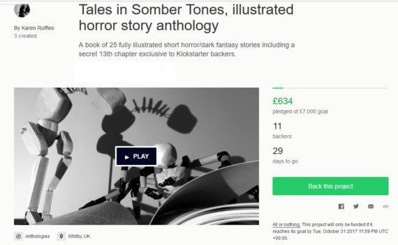 Tales in Somber Tones Kickstarter