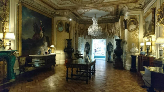 The Grand Drawing Room at Cliffe Castle, where Desire Machine Collective's sound installation plays