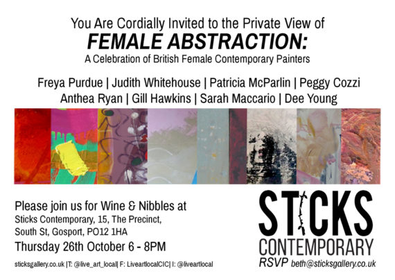 invite to female abstraction
