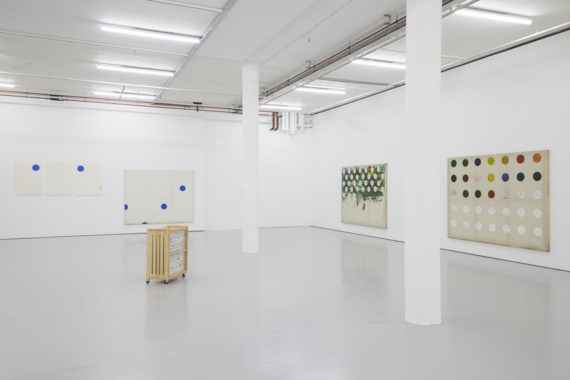 Kim Yong-Ik, 'I Believe My Works Are Still Valid', Installation view, Spike Island (2017) Courtesy the artist, Kukje Gallery and Tina Kim Gallery. Photo: Stuart Whipps