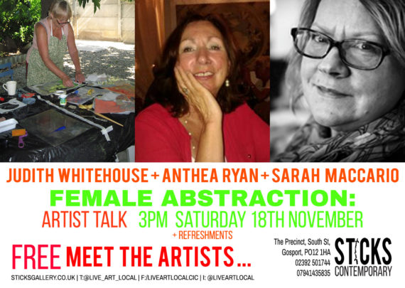 FEmale Abstraction: Artist Talk