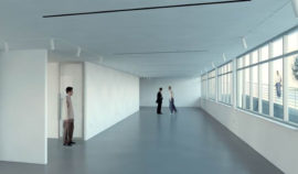 Rendering of Camberwell Space. Image: Stephen Marshall Architects