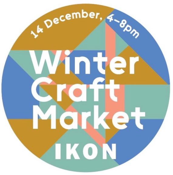Winter Craft Market at Ikon, poster