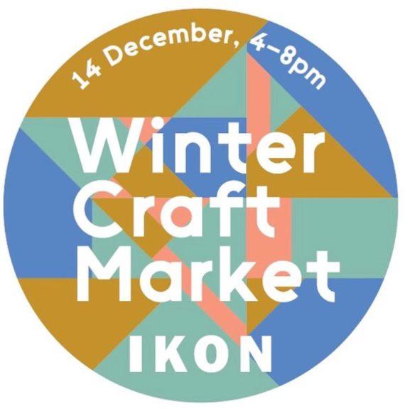 Winter Craft Market at Ikon, poster