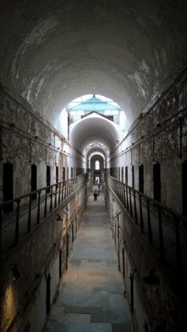 Eastern State Penitentiary Corridor