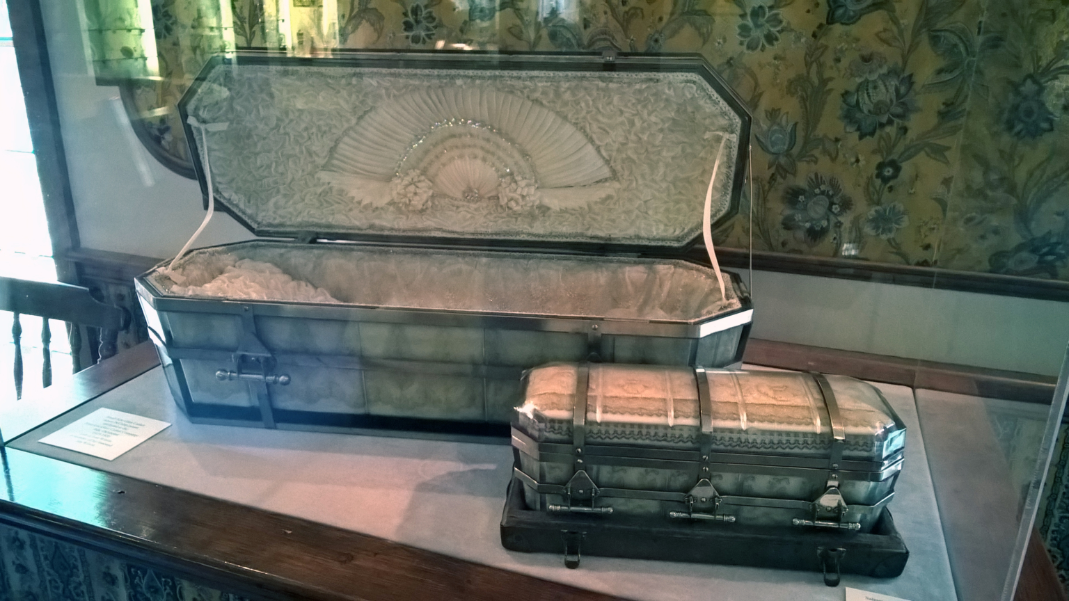Glass Coffins, from the collection of the Museum of American Glass