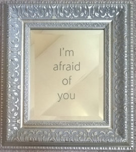 "Jeff Zimmer, ""I'm Afraid of You"" (Silver Mirror version)"