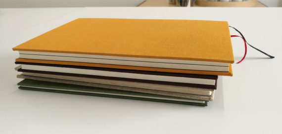 Examples of Round-back Case Book Binding at LCBA