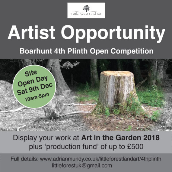 Artist Opportunity - Boarhunt 4th Plinth Open Competition