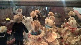 Walter Potter, Kittens' Wedding, at the Morbid Anatomy Museum (Detail)