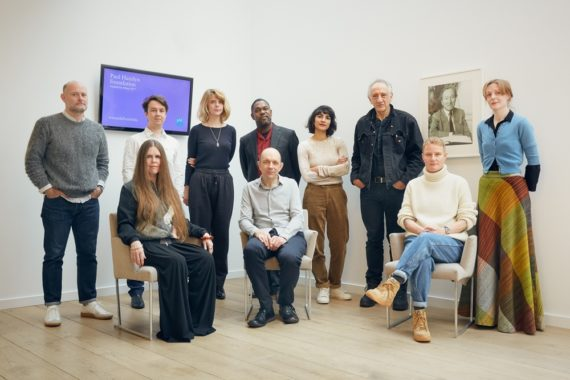 Paul Hamlyn Foundation Awards for Artists 2017 Group Shot. Photo: Emile Holba