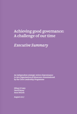 Achieving Good Governance