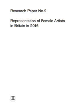 Research Paper No.2: Representation of female artists in Britain 2016