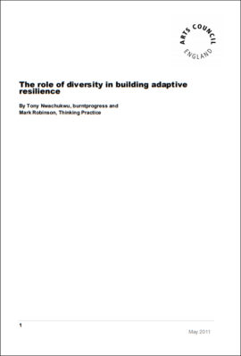 The role of diversity in adaptive resilience