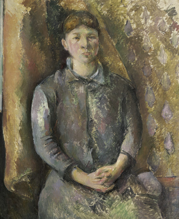Paul Cezanne (1839-1906), Madame Cezanne, c.1886 (oil on canvas); 100.6x81.3 cm; Detroit Institute of Arts, USA; Bequest of Robert H. Tannahill