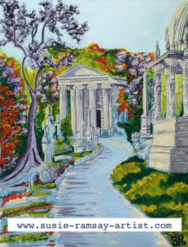 Arnos Vale Cemetary by Susie Ramsay