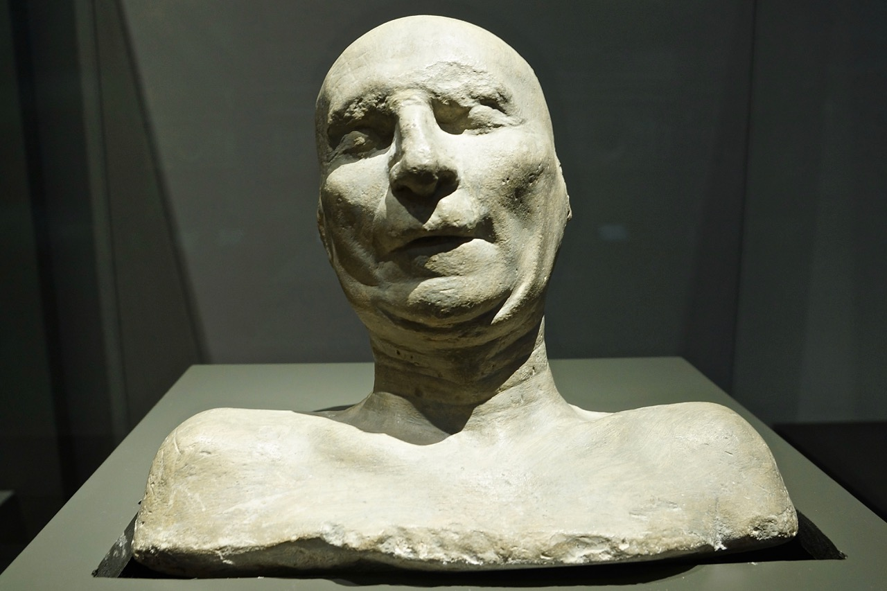 Funerary mask of Filippo Brunalleschi, 1447, Museo del Duomo, Florence.