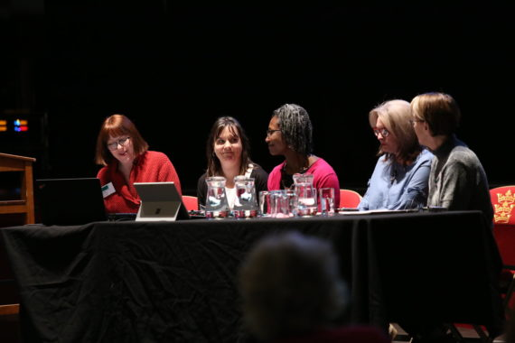 Plenary 1, Engage Conference 2017 (The Whole Picture: Rethinking diversity), Hull City Hall, November 2017. Photo: Amy Charles, Courtesy: Engage