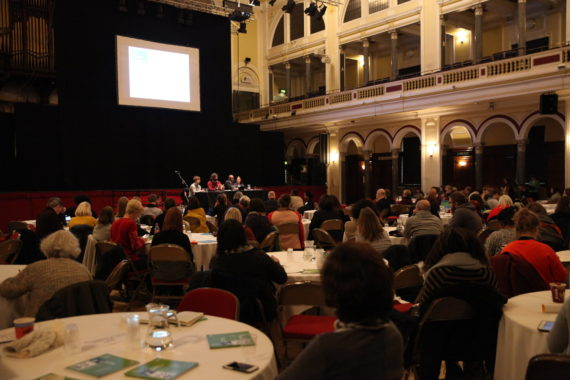 Plenary 3, Engage Conference 2017 (The Whole Picture: Rethinking diversity), Hull City Hall, November 2017. Photo: Amy Charles, Courtesy: Engage