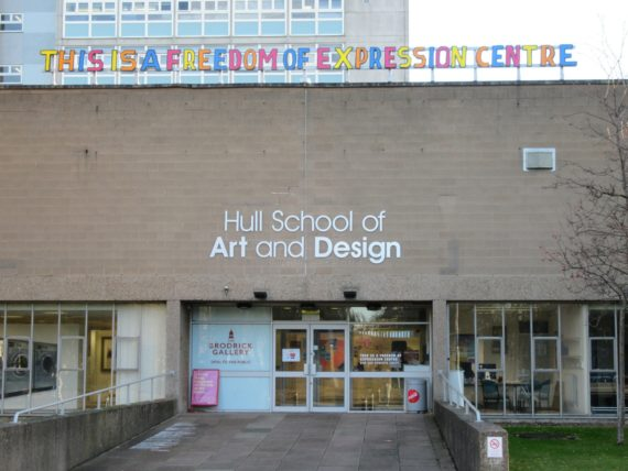 Bob and Roberta Smith, This is a freedom of expression centre. Photo: Paul Collinson