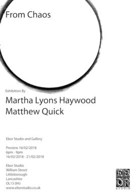 Martha and Matt exhibition Feb 2018