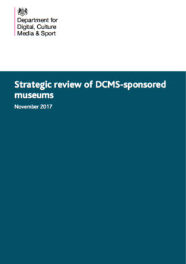 Strategic review of DCMS-sponsored museums
