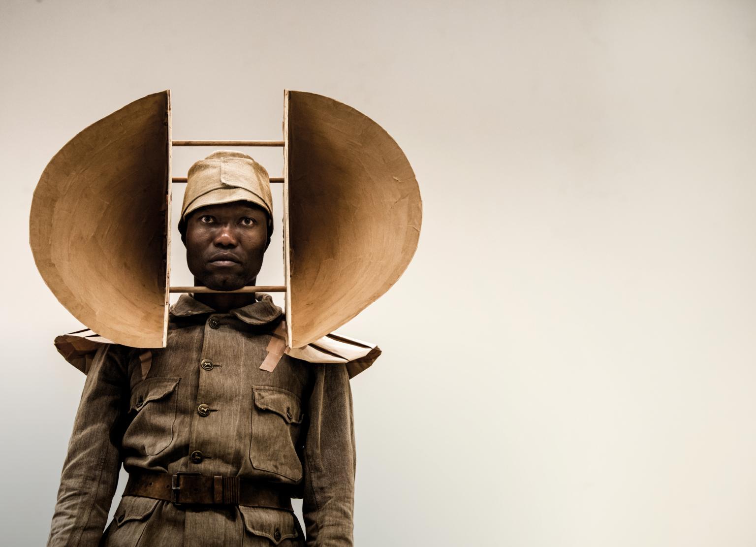 William Kentridge, The Head and the Load. Photo: Stella Olivier