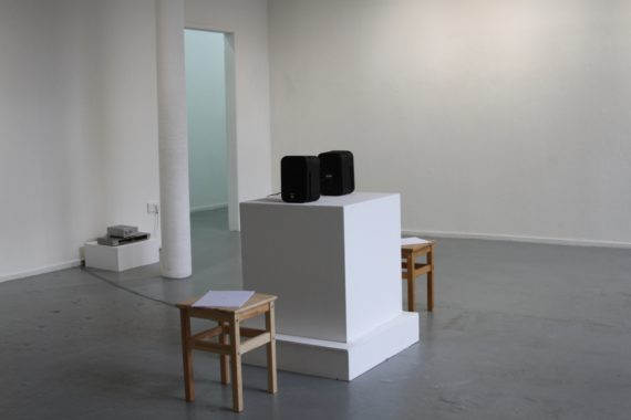 Exhibited for The Space Between, an exhibition my Kim Walker at Patriothall Gallery, Edinburgh (2017).