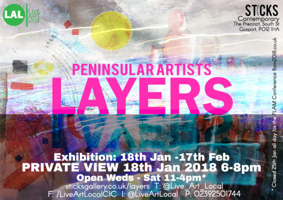 Layers Exhibition 18th Jan Opening