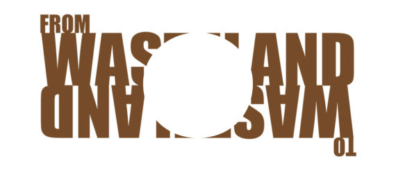 web - WASTELAND TO WASTELAND LOGO - BROWN