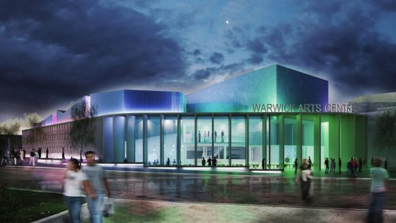 Warwick Arts Centre after redevelopment