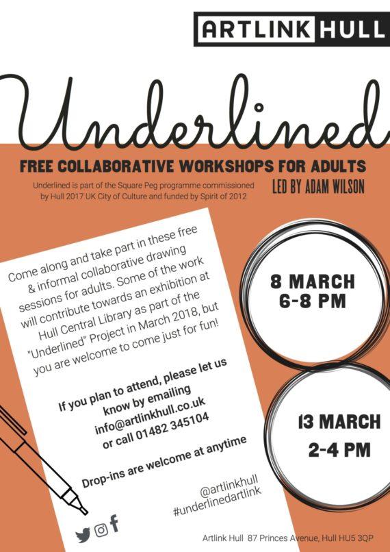 underlined project workshops flyer