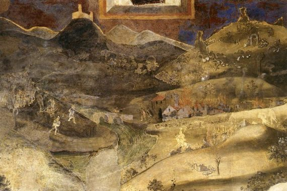 Ambrogio Lorenzetti Bad Government detail