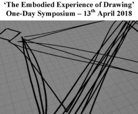 The Embodied Experience of Drawing, flyer