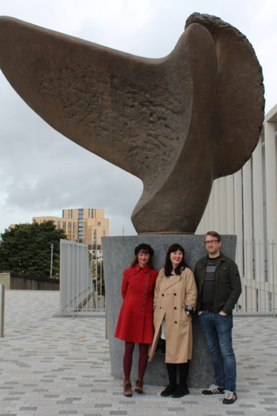 Sculpture Placement Group, (L-R) Kate V Robertson, Michelle Emery-Barker and Martin Craig