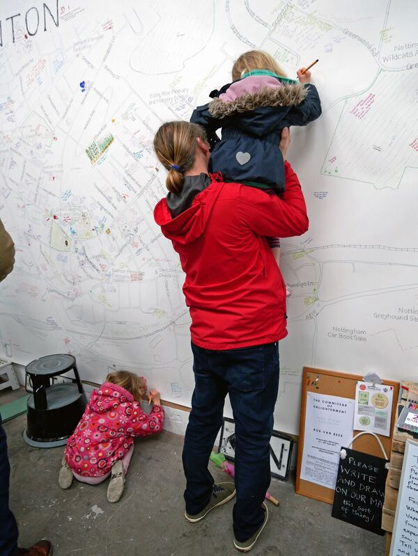 Sneinton Pride of Place Project at Sneinton Market Photo: The Caravan Gallery (1)