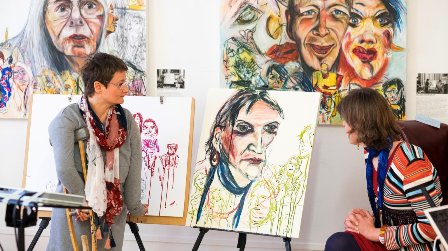 Tanya Raabe-Webber, portraits of high profile people with disabilities