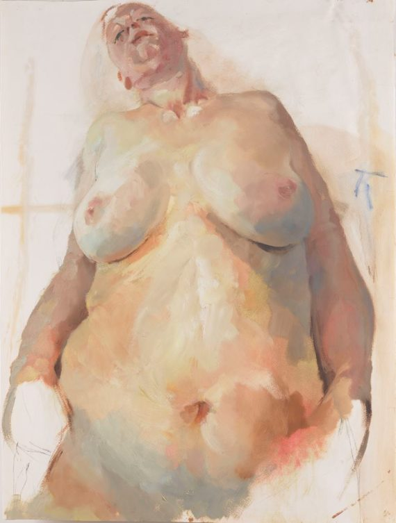Jenny Saville, Study for Branded, 1982. © Jenny Saville. Courtesy; artist and Gagosian.