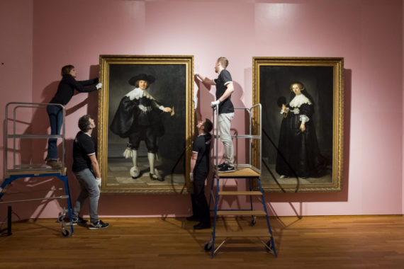 Rembrandt van Rijn (1606-1669), Portraits of Marten Soolmans and Oopjen Coppit, 1634. Joint aquisition by the Dutch State and the French Republic, collection Rijksmuseum/collection Musée du Louvre, 2016. Photo: David van Dam