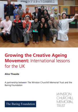 Growing the Creative Ageing Movement