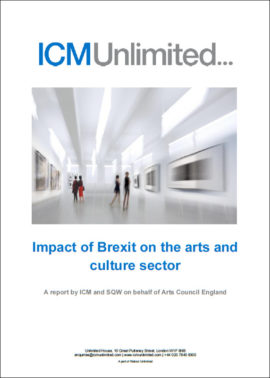 Impact of Brexit on the Arts and Cultural sector