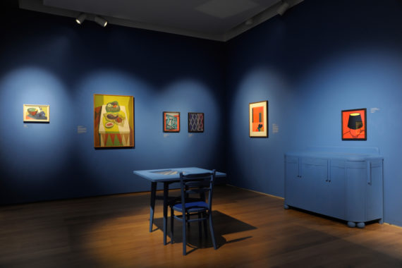 'Inhabit' exhibition, installation view, Towner Art Gallery. Photo: Alison Bettles