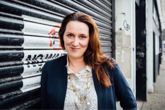 Laura Sillars, announced as new director of Middlesbrough Institute of Modern Art. Courtesy: Teesside University / MIMA